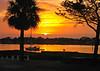 Sunrise over St Augustine Florida