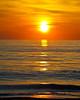 The sunrise at Virginia Beach in April