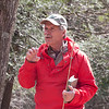 Dave Emerson of Westchester Land trust elucidates the mysteries of wildflower communities we see along the trail