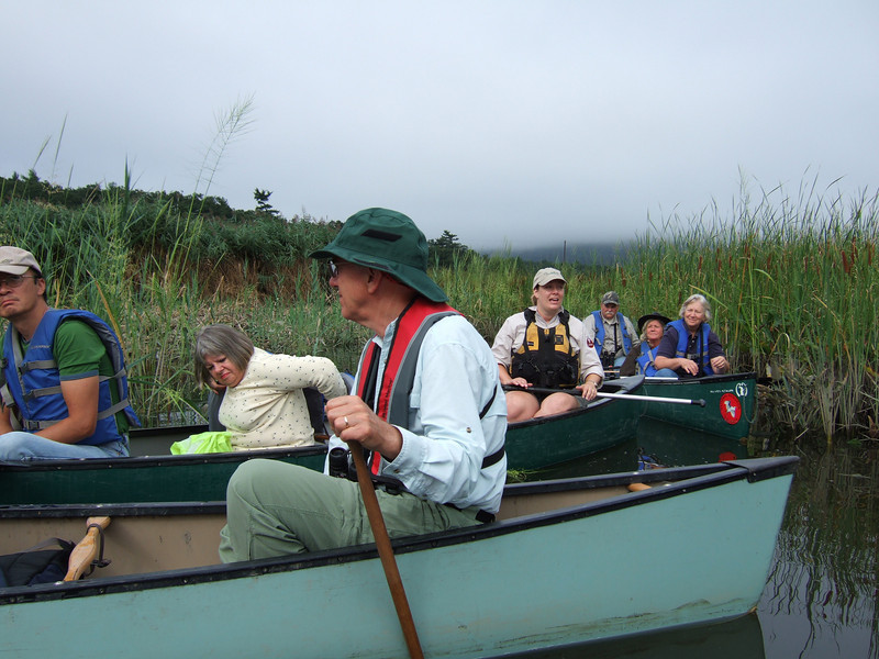 Bedford Audubon canoe trip to Constitution Marsh, Garrision, NY National Audubon Center