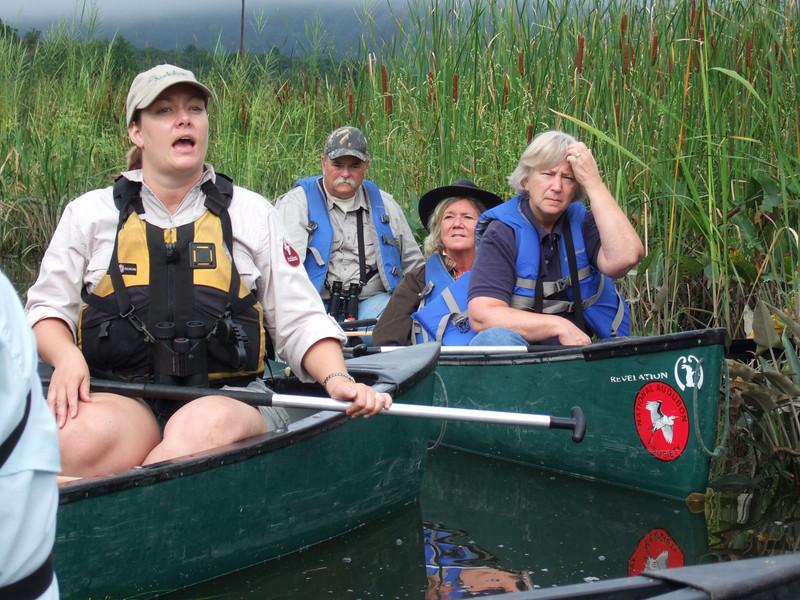 Bedford Audubon canoe trip to Constitution Marsh, Garrision, NY National Audubon Center