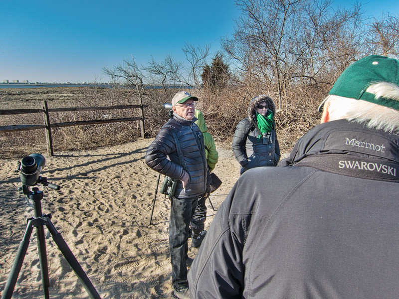 Don Riepe discusses the history of Jamaica Bay Wildlife Sanctuary