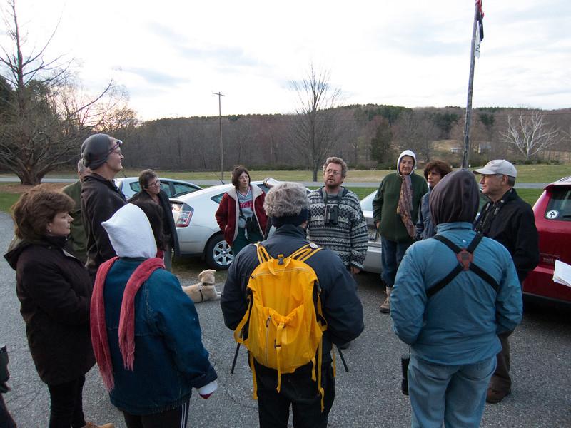 Timberdoodle Walk at Ward Pound Ridge Reservation, April 12, 2012 - with Tait Johanson