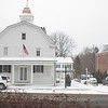 County Courthouse Building, Bedford, NY during Snowstorm