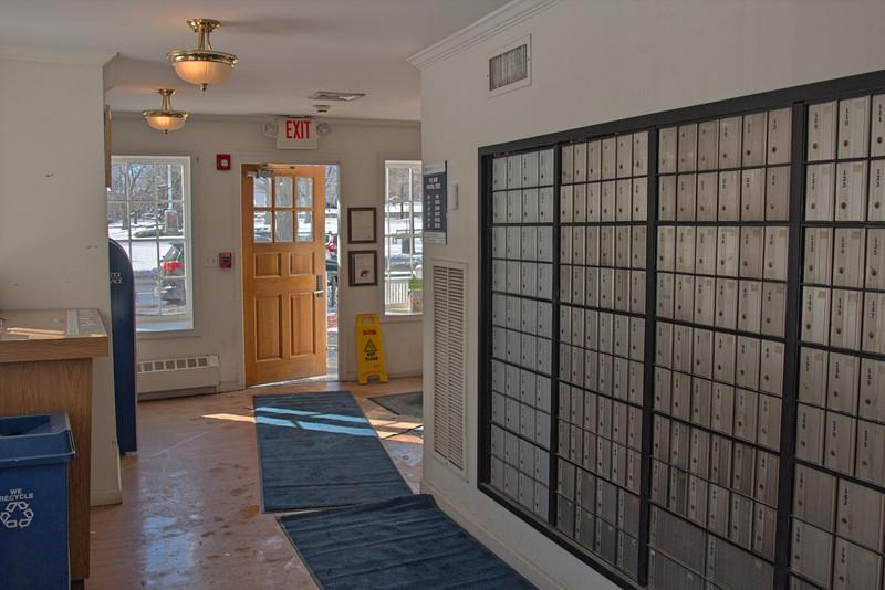 Interior Bedford Post Office, Mid-day - Voigtlander 20mm f/3.5 lens