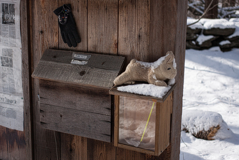 """December 30, 2012 - Entry Kiosk - """"It's cold out here!"""""""