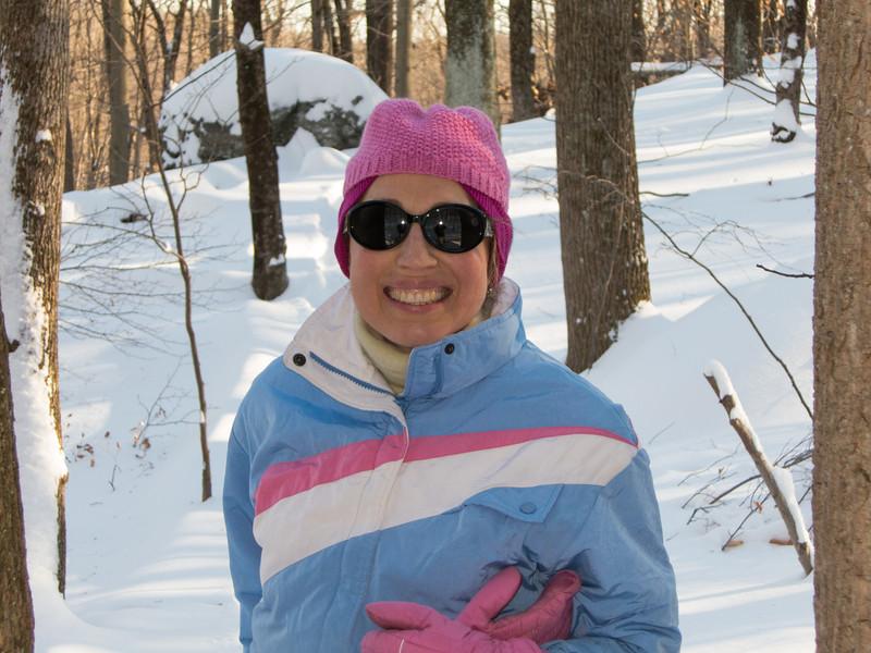 Sierra Club Snowshoe Trip 2-9-2013-1478