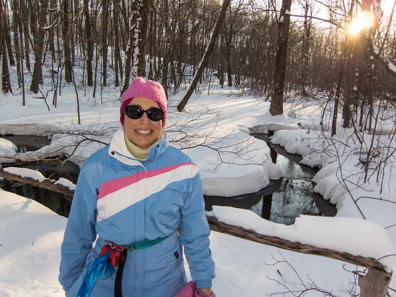 Sierra Club Snowshoe Trip 2-9-2013-1483