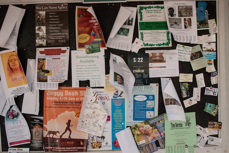 Bedford Village Bulletin Board