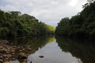 Macal river at Crystal Paradise