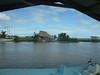 Leaving the Dandriga dock