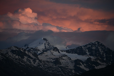 Storm over Bernina