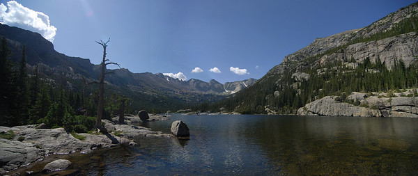 Mills Lake, Rocky Mountains National Park