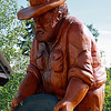 Chain Saw Carving, Visitor's Centre, Taylor BC