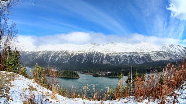 Azouzetta Lake in the Pine Pass, northeastern BC.