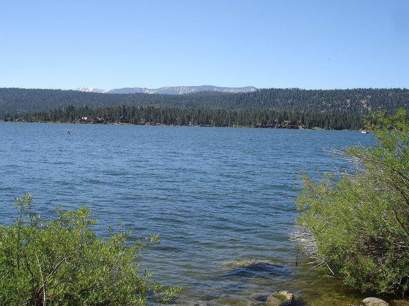 We made stops to view Big Bear Lake.