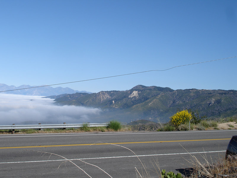 Our first stop on our way to Big Bear Lake was along Highway 330 overlooking San Bernadino