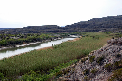Rio Grande River from Boquillas Canyon Overlook