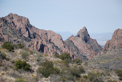 The Window from Chisos Basin