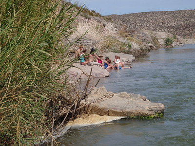 Rio Grande River at Hot Springs