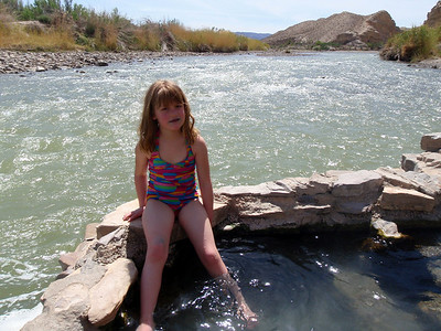 Hot Springs along Rio Grande River