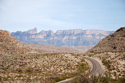 View in Big Bend National Park