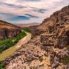 Rio Grande River in Boquilla's Canyon
