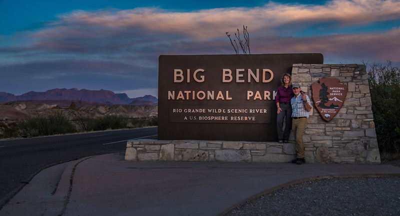 Entering Big Bend National Park