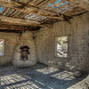 Abandoned adobe house.