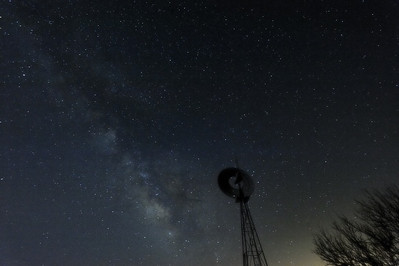 Milky Way on the Big Creek Ranch.