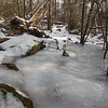 More icy hiking trail...amazing how well MicroSpikes work in these conditions!  Thank you Danny of Kahtoola!