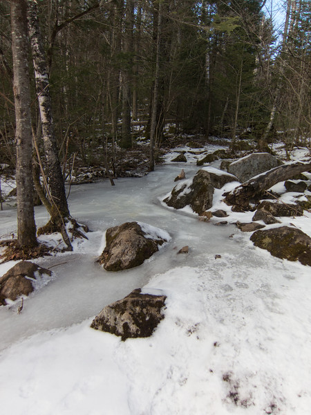 Yes, that river of ice is a hiking trail!  Like this most of the way up...