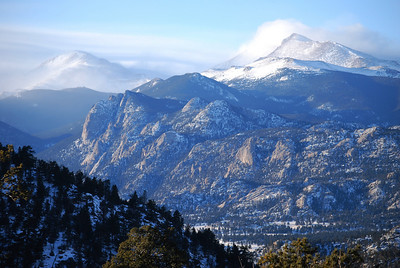 Overlook near Estes Park