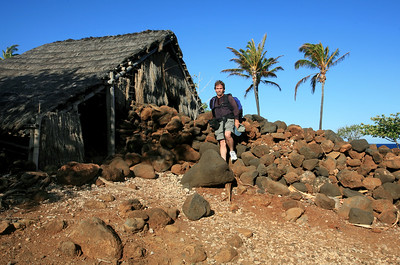 Lapakahi State Historical Park, an old village dating back 600 years. It has been restored, much of the stonework is original h0507_3749