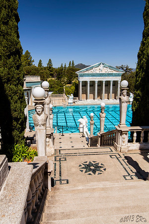 Just a few more steps to the cool, clear water of the Neptune Pool.