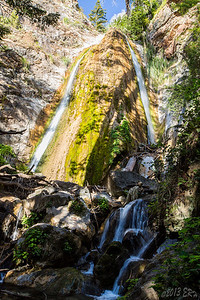 Limekiln Falls.  You can see the water level is already starting to drop even though it is only April.