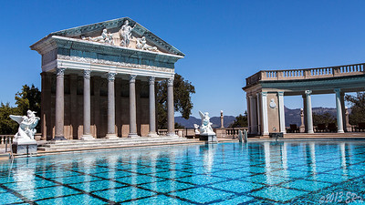 On the edge of the Neptune Pool