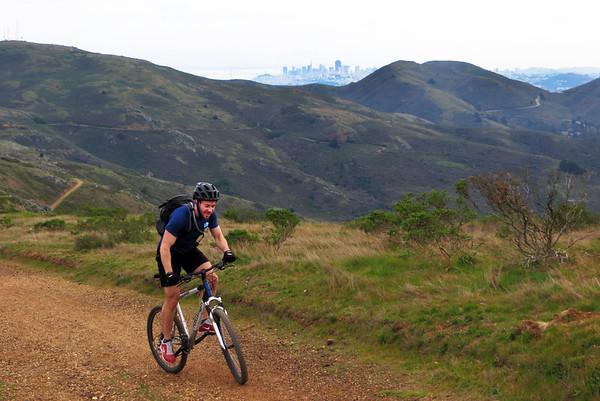 GGB-Marin Headlands Mtn. Bike: Mar 2, 2013