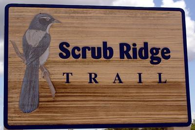 Scrub Ridge Trail - Merritt Island. Merritt Island had excellent signage.