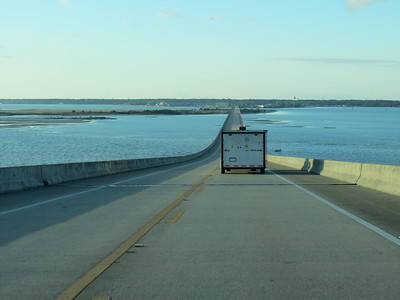 The road to Dauphin Island...
