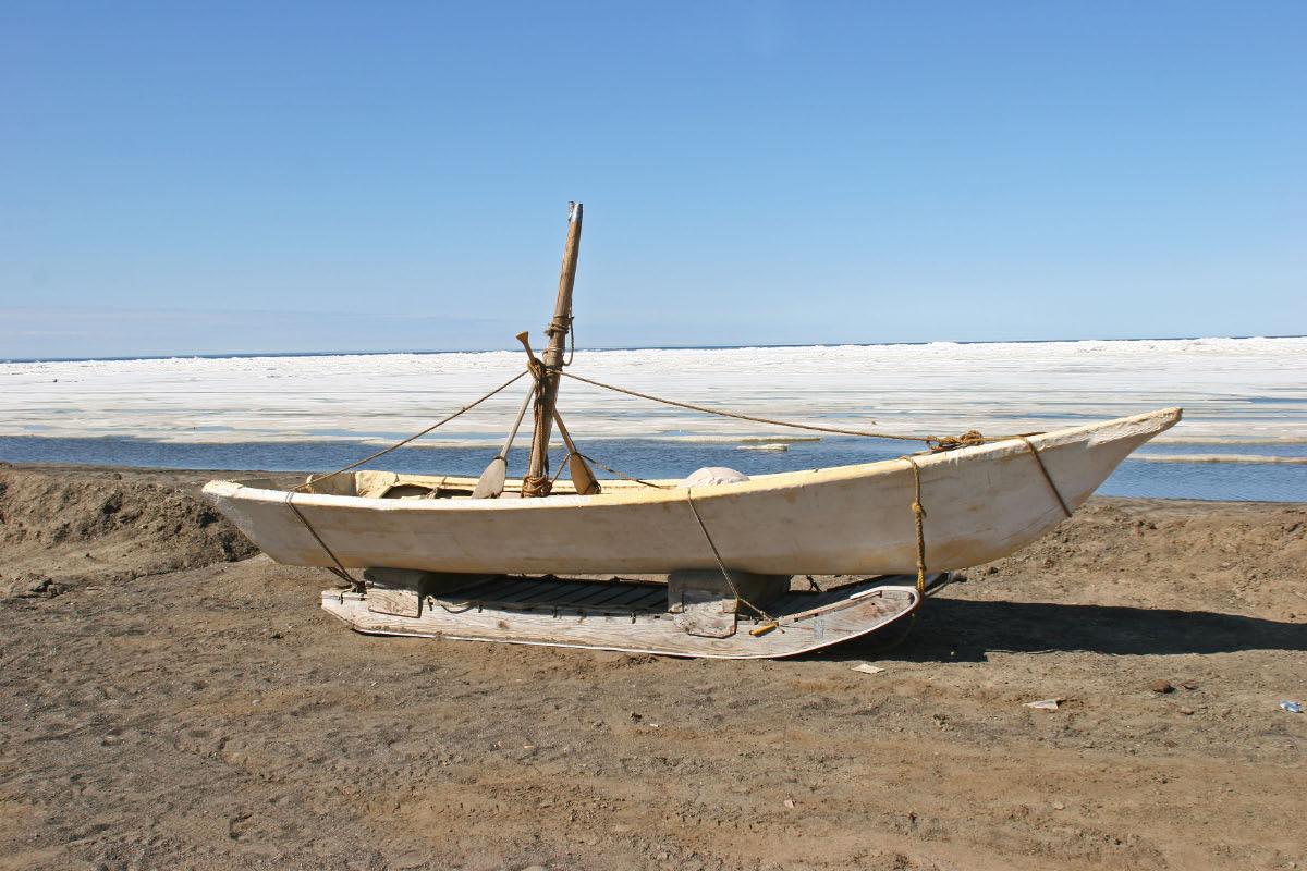 Eskimo Hunting Boat