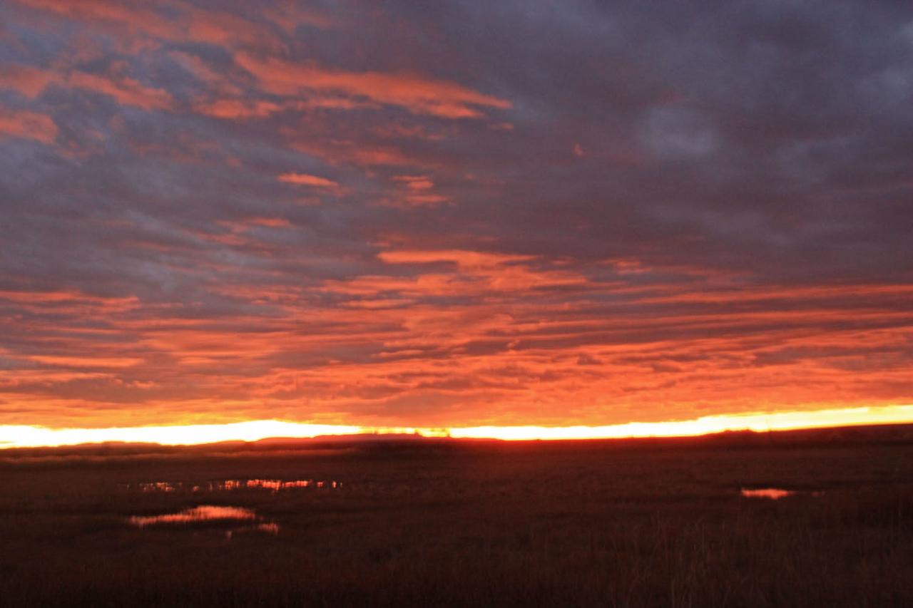 Sunrise at Flight Deck