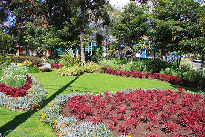 City Park in Quito near Hotel Sebastion