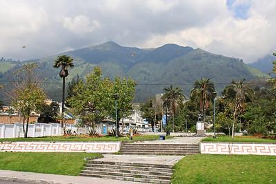 City Park in Quito