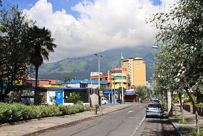 View from Quito