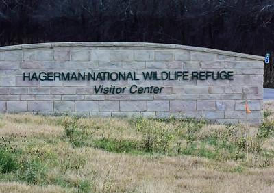Refuge Entrance Sign