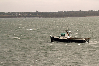 Lobster Boat - Sachuest Point NWR