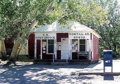 Post Office in Portal, AZ