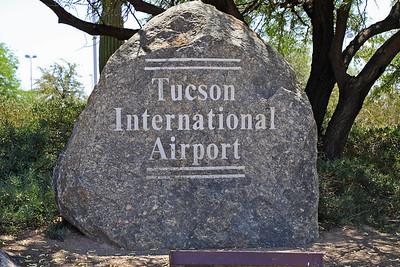 Tucson Airport Entrance