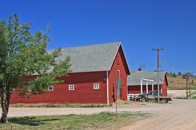Barn on Deseret Ranch